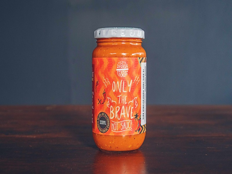 Only The Brave Hot Sauce